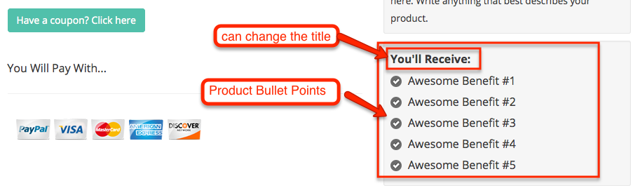 product-bullet-points